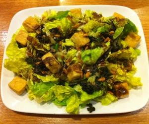 Tofu Crouton Salad