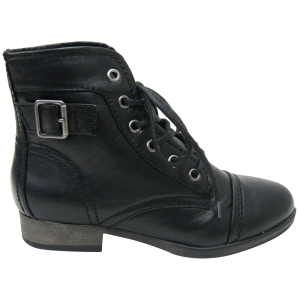 Madden Girl Armie Black Vegan Boot